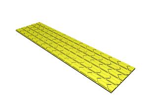 Strip Polyurethane Lagging
